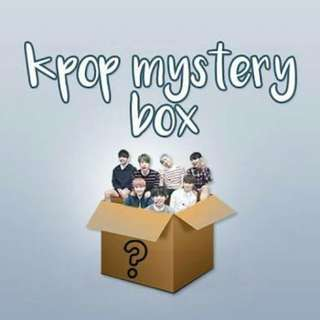 KPOP MYSTERY BOX **Popular demand**