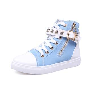 [NEW] [PO] PROMOTION FOR MONTH OF MARCH 2018  !!!  Super Pretty Cool HIgh Cut Shoes! Great For Dance, Events, School And Many More!