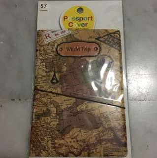 Passport cover (old map design)