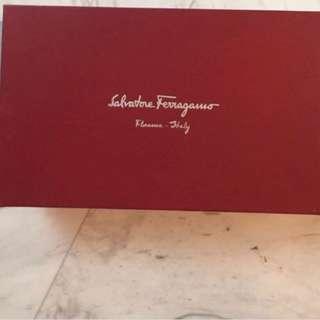 Salvatore Ferragamo shoe box (jellies)