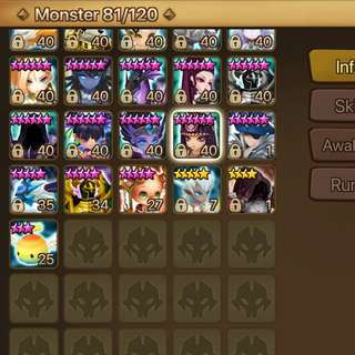 SELL/DOWNGRADE Summoners War Account Asia C2 LND 5*