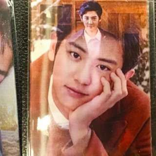 EXO CHANYEOL NATURE REPUBLIC CARD