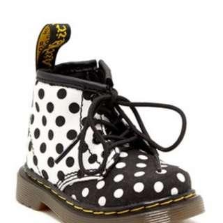 Dr Martens Toddler/Kids Polka Boots