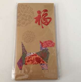 Red Packet -Dog -1 pkt of 8 Ang Pao (4 of each design)