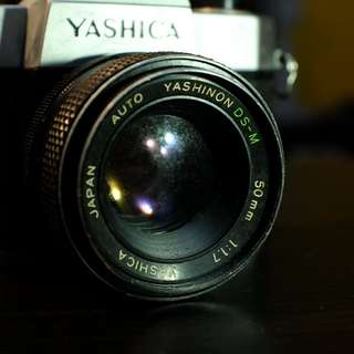Yashika TL-ELECTRO Vintage Camera for parts