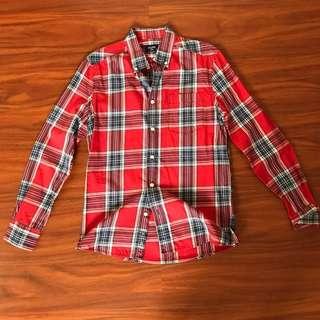 Colins Checkered Long Sleeve Shirt