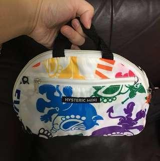 包郵 日本小童 潮牌 hysteric mini 黑超b 大容量環保袋 媽媽袋 奶粉袋 eco bag 手挽 斜揹 兩用袋 子母袋