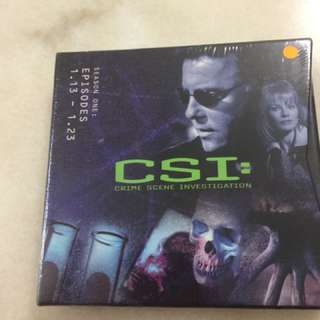 CSI season1 (episodes 13-23)