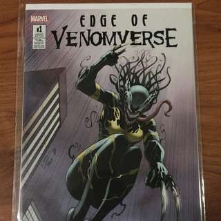 Marvel Edge of Venomverse #1 Variant B