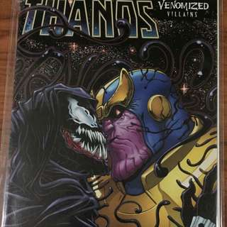 Marvel Thanos #11 Venomized Villains Variant
