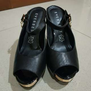 EVERBEST HEELS LIKE NEW GENUINE LEATHER