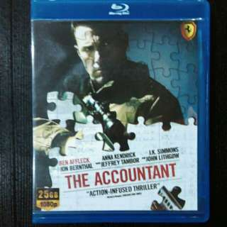 The accountant blu ray movie