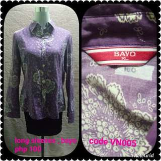 Violet polo (bayo)