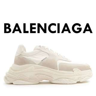 BALENCIAGA Triple S low-top trainers white 2.0