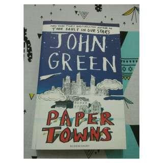 Novel paper towns