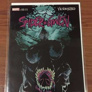 Marvel Spider-Gwen #18 Venomized Variant