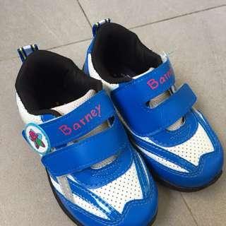 Barney kids shoes