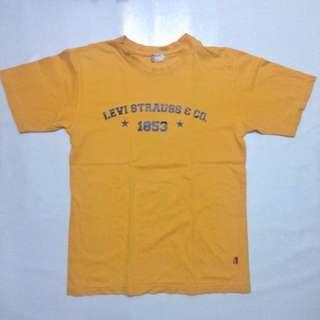 Levi's Mustard Tee