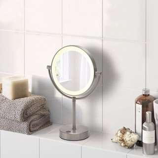 IKEA KAITUM 附燈浴鏡/化妝鏡