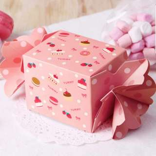 Candy Favour Box