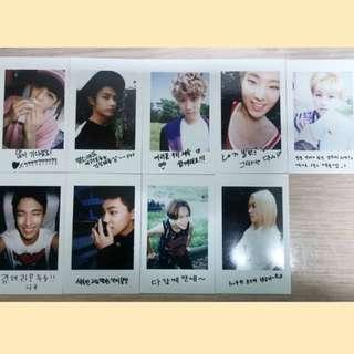 Seventeen BoysBe 小卡 Photocard