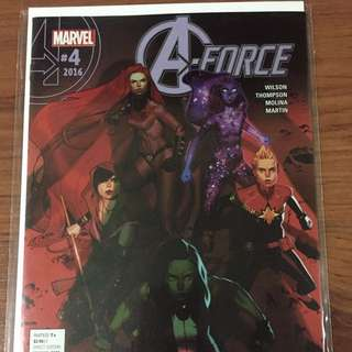 Marvel A-Force #4