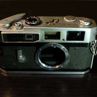 Canon 7 Vintage Film Camera for parts