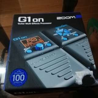 G1on Zoom guitar Multi-effects