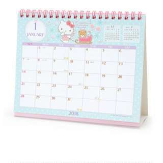 (BN) Hello Kitty Calendar 2018 [Made in Japan]