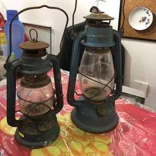 舊手提燈🈵2個$30