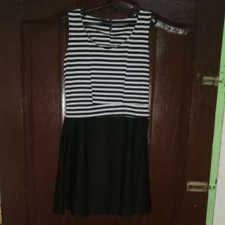 BlackNWhite Dress