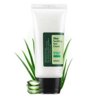 $12.20 [FREE SAMPLE] COSRX SPF50+ PA+++ Aloe Soothing Sun Cream 50ml