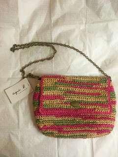<JAPAN> BRAND NEW Agnes B handbag