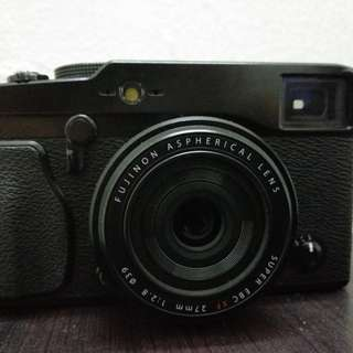 Fujifilm X-Pro 1 with 27mm F2.8 Pancake