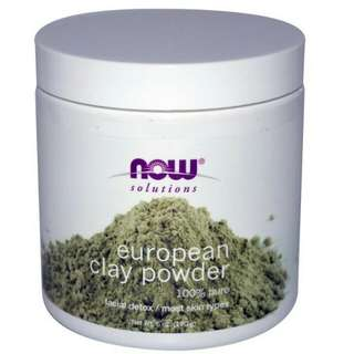 NOW Foods,Solutions,European Clay Powder 170g