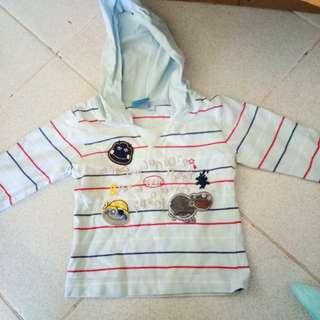 Baby longsleeves with hood
