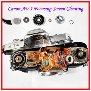 Deep Cleaning for Canon AV-1