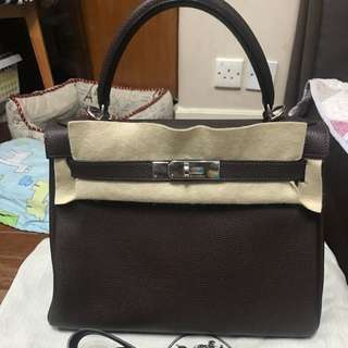 Hermes 28 Kelly Bag (Used)
