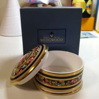 Wedgwood瓷手飾盒(英國制造)