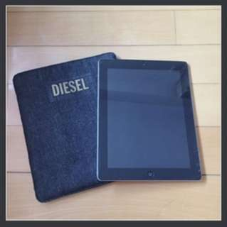 全新 包郵Diesel denim iPad Case