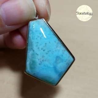拉利瑪(海紋石)吊咀 水晶飾品