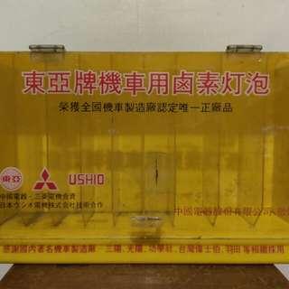 🚚 早期東亞燈泡店頭盒