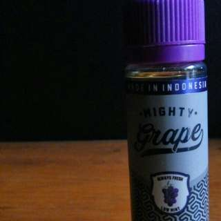 E-Liquid for vape mighty grape - grape bubble gum 60ml/3mg