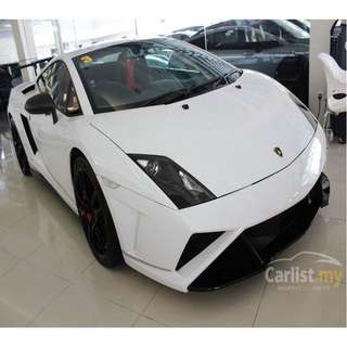 UNREGISTERED 2013 LAMBORGHINI GALLARDO LP570-4 SQUADRA CORSA 5.2CC COUPE