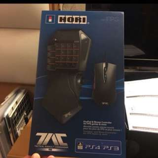Hori tac mouse and keyboard ps4