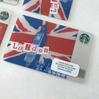 Starbucks Card LONDON!!!!