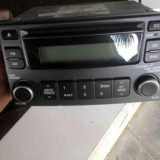 Radio kereta dvd