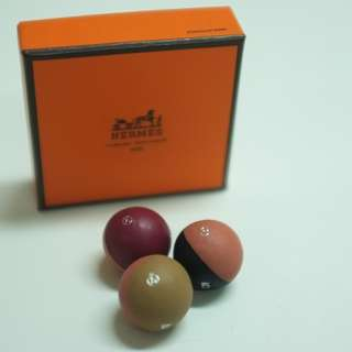 【Hermes】Let's Play 2018 leather mini balls toy leather