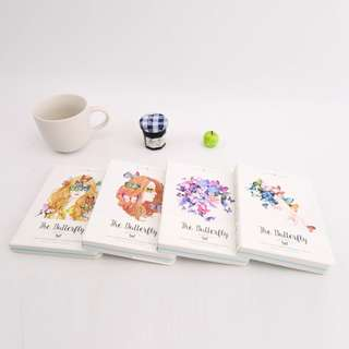 [NEW] The Butterfly Mixed Notebook A6