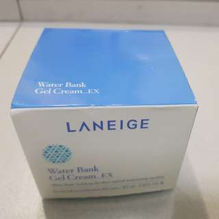 Laneige water bank cream gel